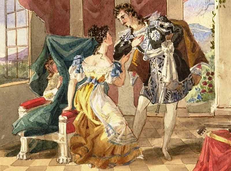 łańcuszek Figaro woperze Wesele Fogara