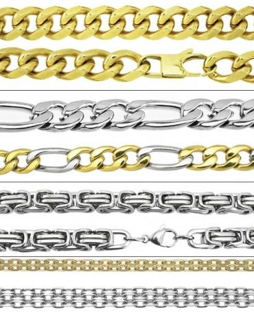 sploty łańcuszków męskich